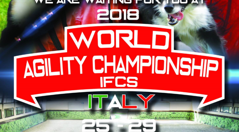 IFCS Announces 2018 World Agility Championship Dates & Venue
