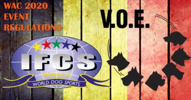 Event Regulations – WAC2020