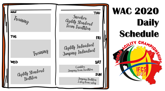 WAC2020 – Daily Schedule